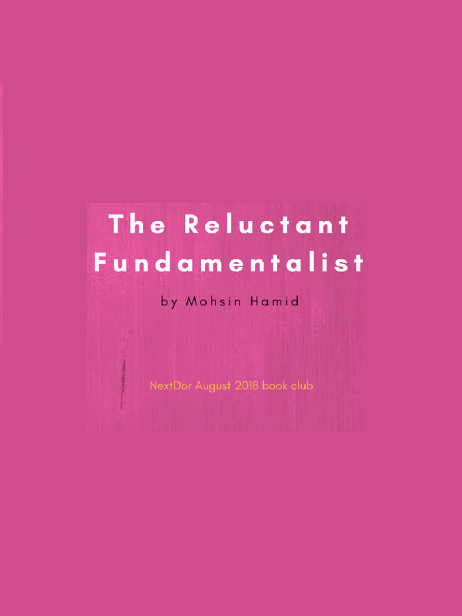 The Reulctant Fundamentalist by Mohsin Hamid