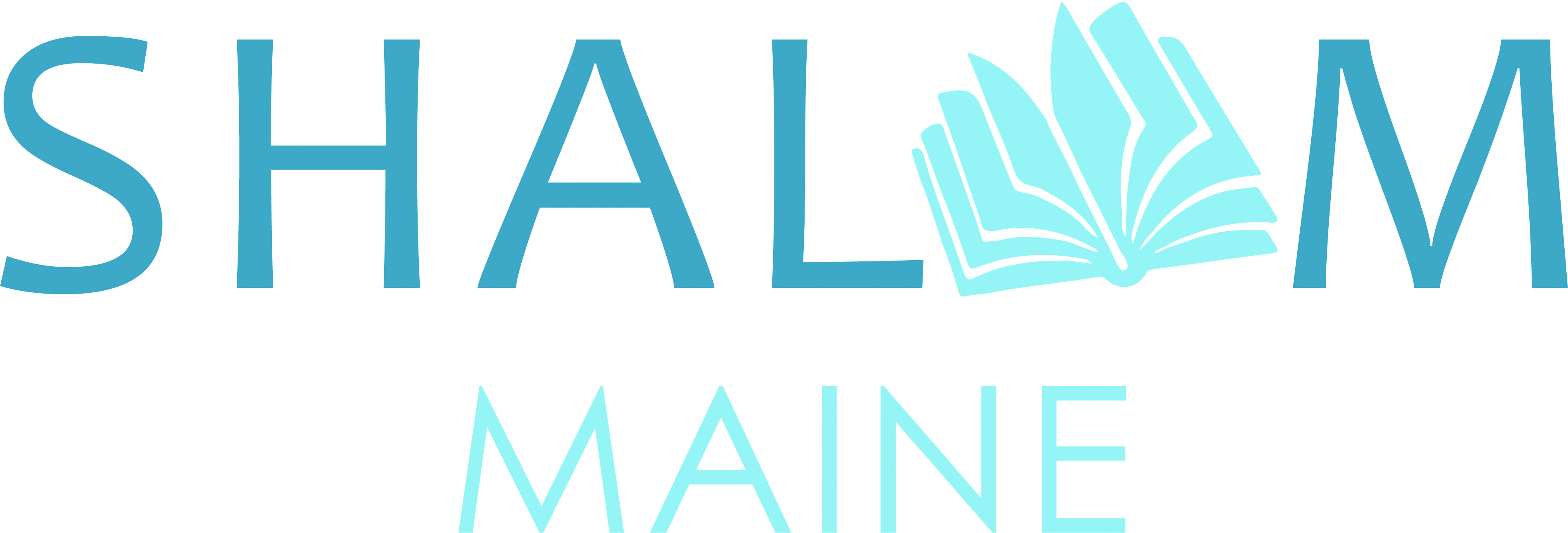 Shalom Maine Logo OUTLINES
