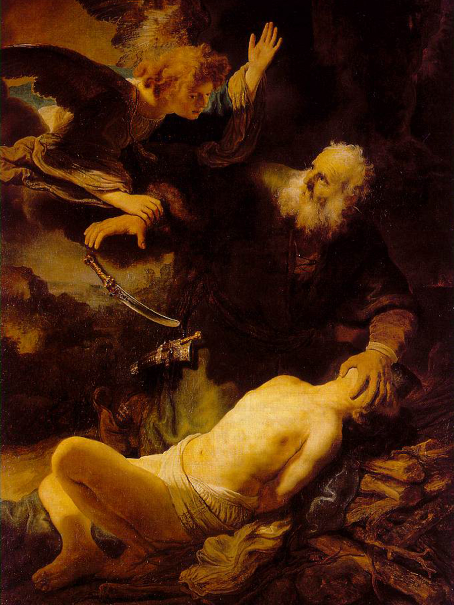 Binding of Isaac - Rembrandt