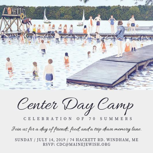 Center Day Camp Reunion Invite