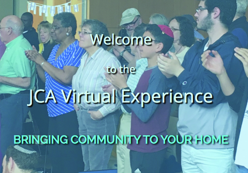 JCA Virtual Experience HomePage Button