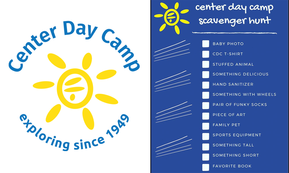 center day camp scavenger