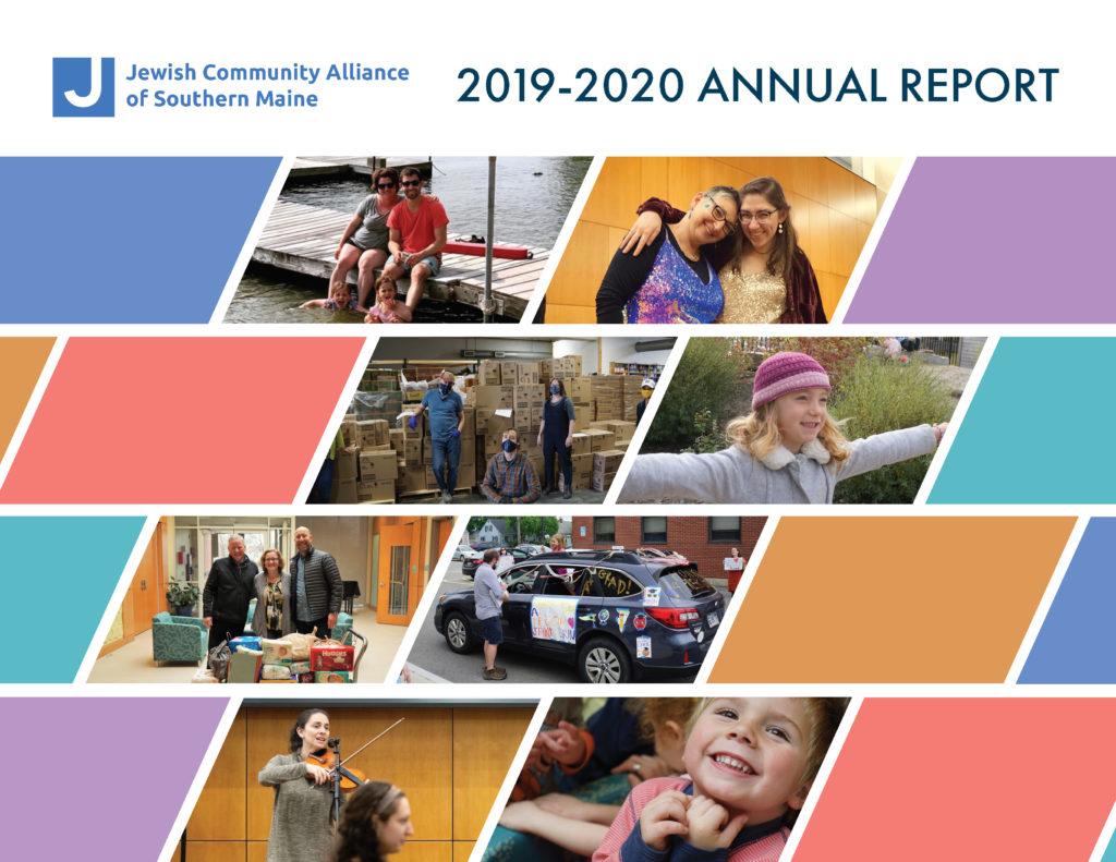 JCA Annual Report 2019-2020 Cover