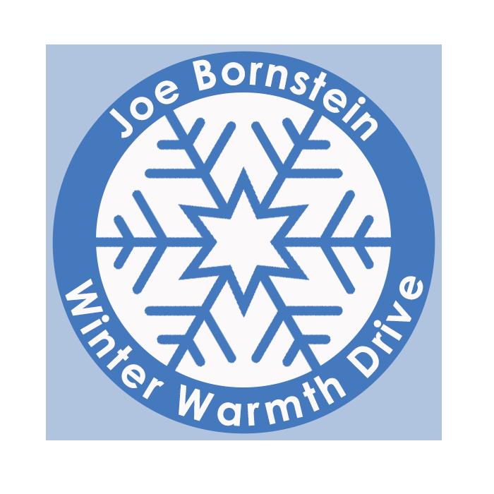 Joe Bornstein Winter Warmth Drive Logo 6