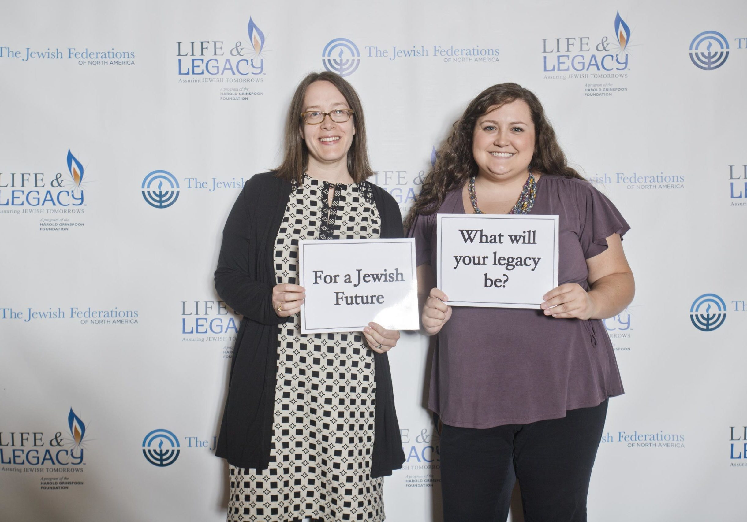 Molly and Ashley at the Federation Life and Legacy Conference